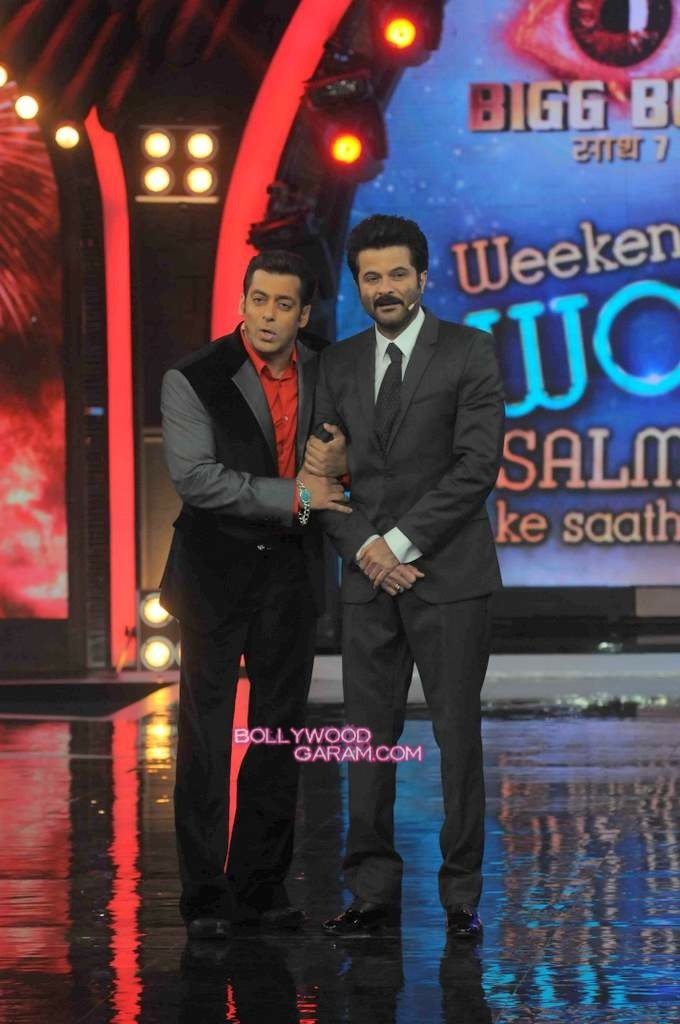 Anil Kapoor and Salman Khan on Bigg Boss 7-2
