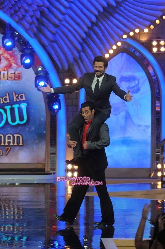 Anil Kapoor and Salman Khan on Bigg Boss 7-3