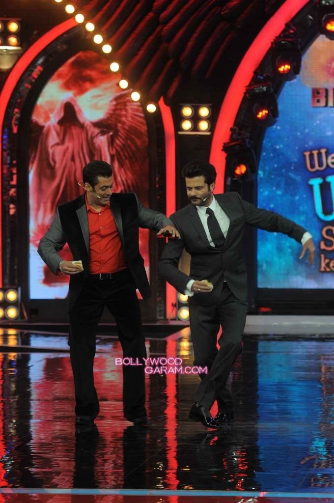 Anil Kapoor and Salman Khan on Bigg Boss 7-4