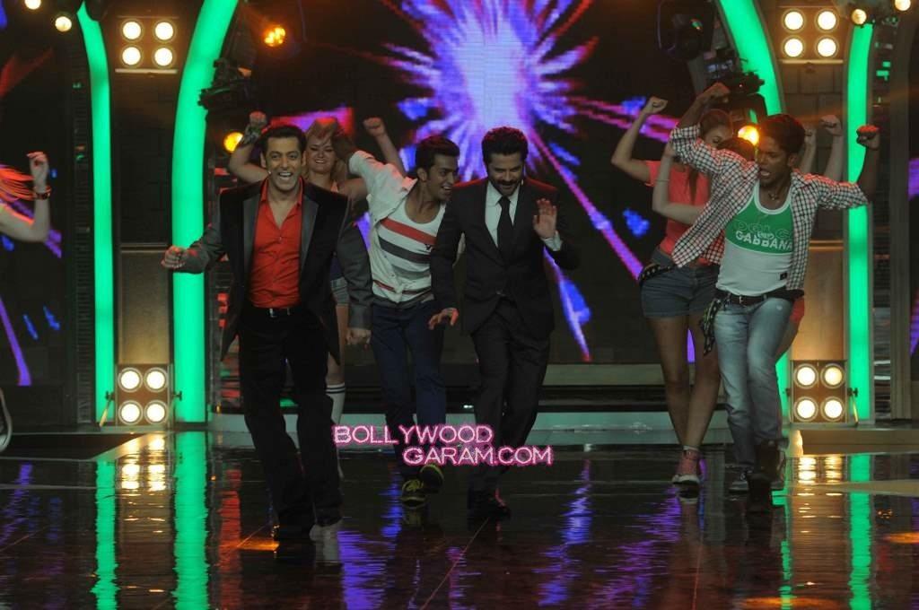 Anil Kapoor and Salman Khan on Bigg Boss 7