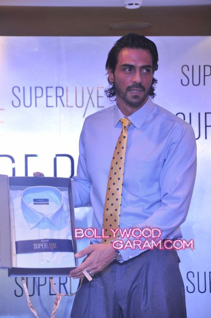 Arjun Rampal Arrow shirt launch