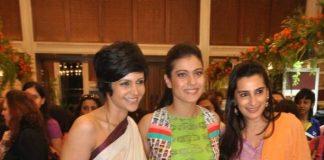 Kajol, Mana Shetty, Sridevi, Mandira Bedi among celebrities at Araaish Trousseau exhibition in Mumbai – Photos