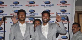 Prabhu Deva wax statue unveiled by Lonavala Wax Museum – Photos
