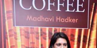 Madhavi Hadker's Over a Cup of Coffee book released by Priya Dutt