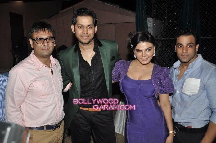 Rakhi Sawant with Ex-1