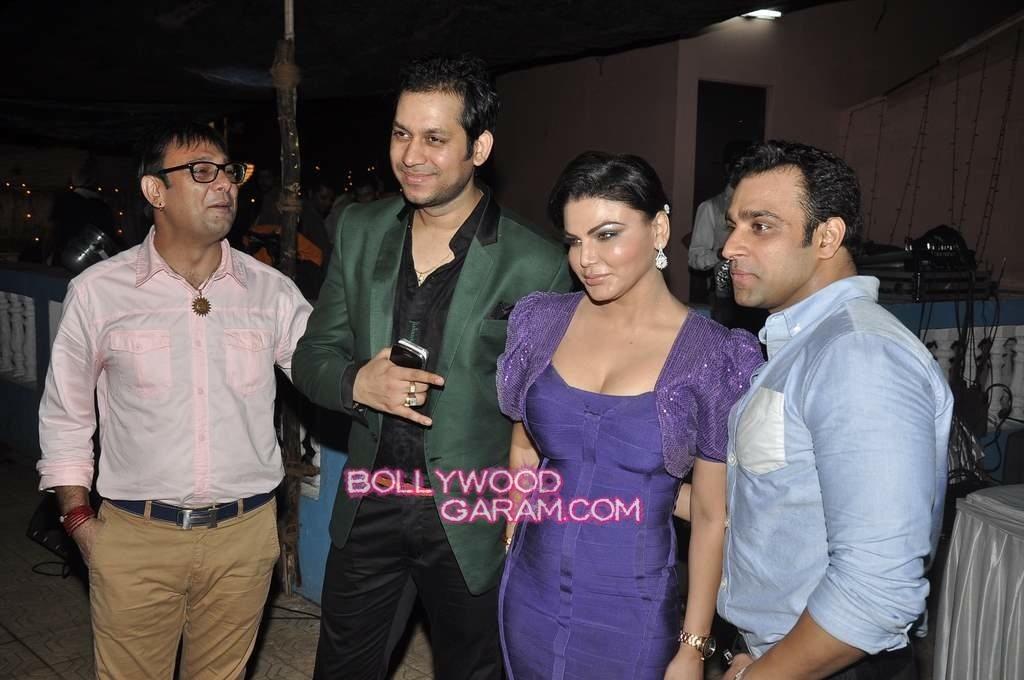 Rakhi Sawant with Ex-2