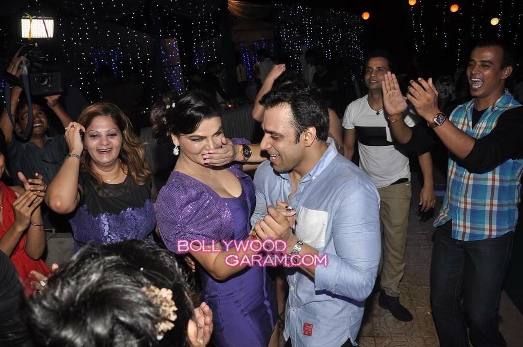 Rakhi Sawant with Ex-4