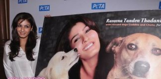 Raveena Tandon launches PETA's Puppy Love: Adopt Don't Buy! campaign