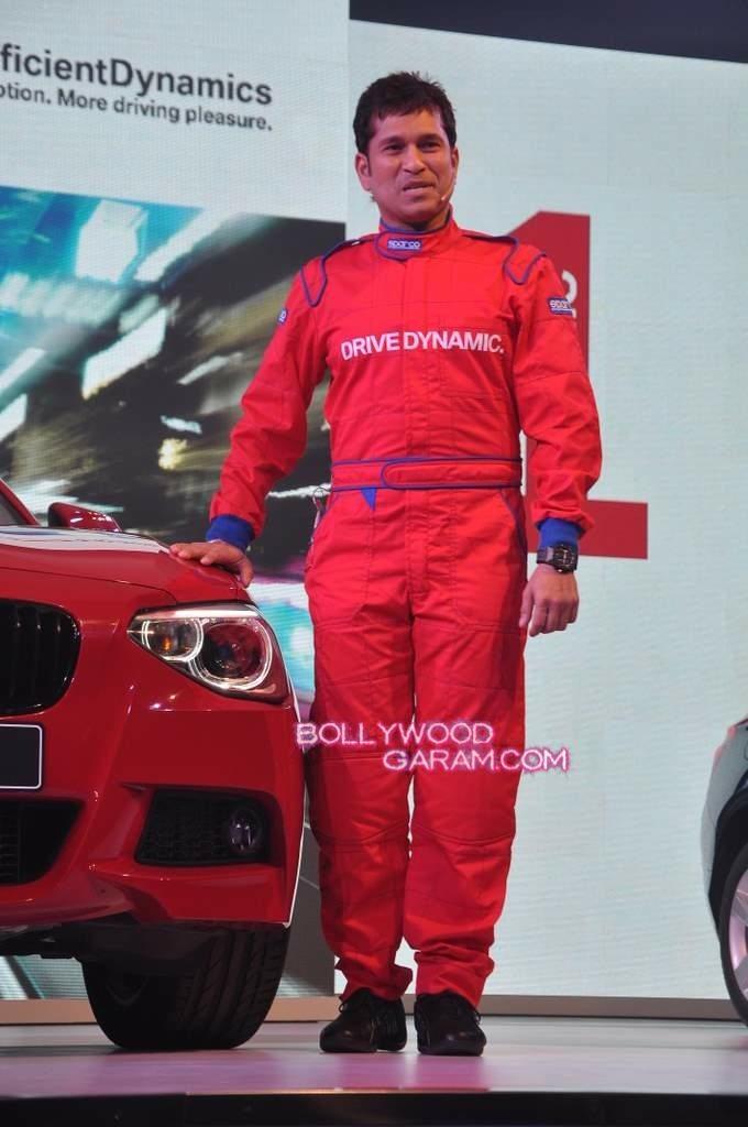 Sachin BMW launch mumbai