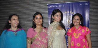 Shriya Saran attends event for Inner Wheel Club