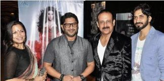 Arshad Warsi and wife Maria attend Raqt premiere