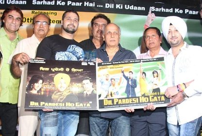 Mahesh Bhatt attends song launch of Dil Pardesi Ho Gaya