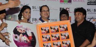 Veena Malik attends music launch of Super Model