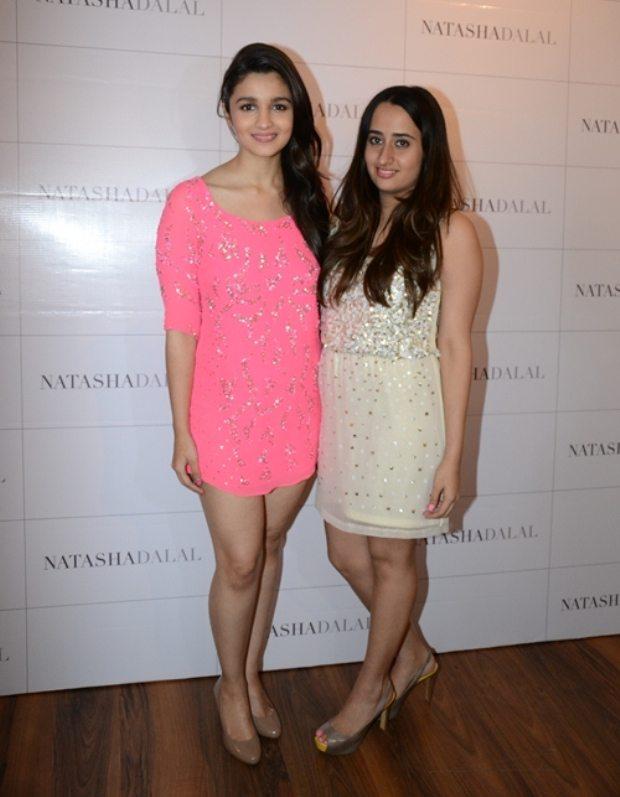 Actress Alia Bhatt & Natasha Dalal