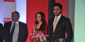 Abhishek Bachchan and Aishwarya Rai show playful chemistry in Prestige ads