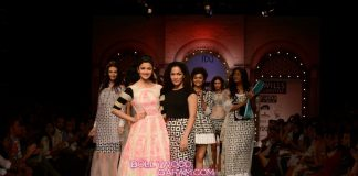Alia Bhatt walks for Masaba Gupta at Wills India Fashion Week Day 1