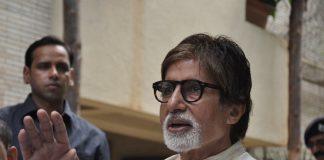 Amitabh Bachchan greets press on 71st birthday – Photos