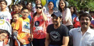 Ayushman Khurana at World Cerebral Palsy Day carnival walk event