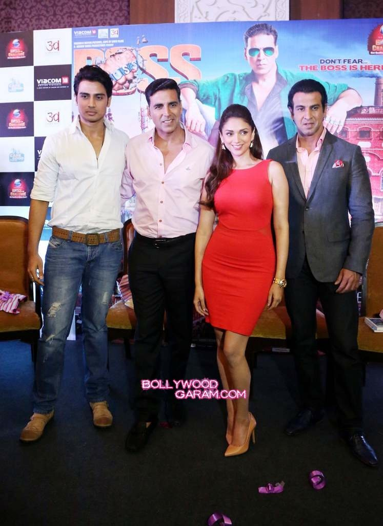 Boss movie promotions Delhi-4
