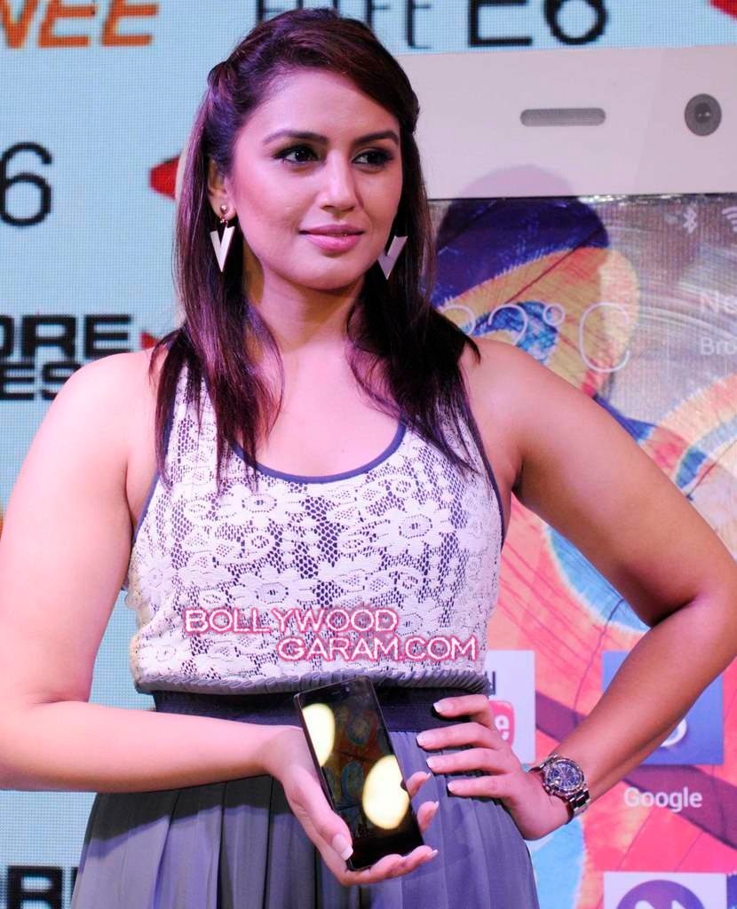 Huma Qureshi Gionee phone launch-2