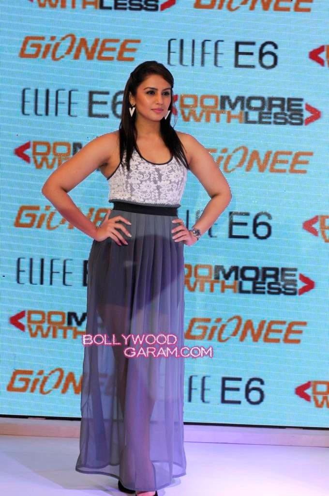 Huma Qureshi Gionee phone launch
