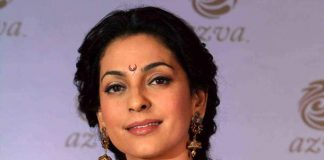 Juhi Chawla attends Azva Jewellery Launch event as guest of honor