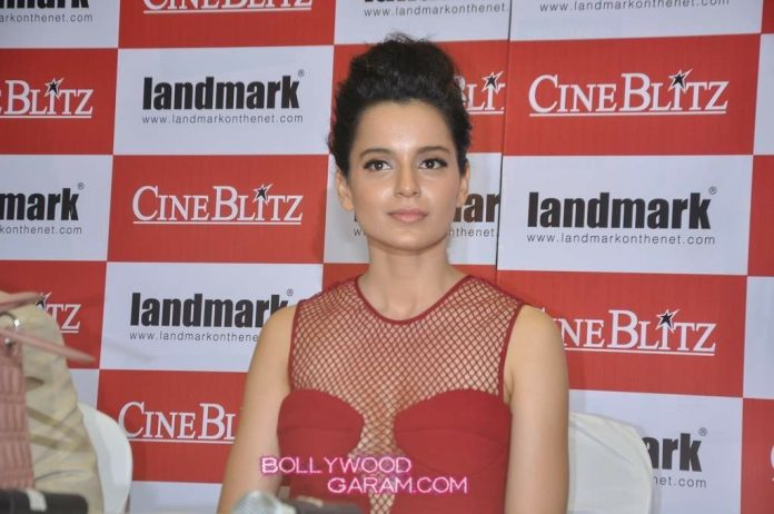 Kangana Ranaut Cineblitz launch