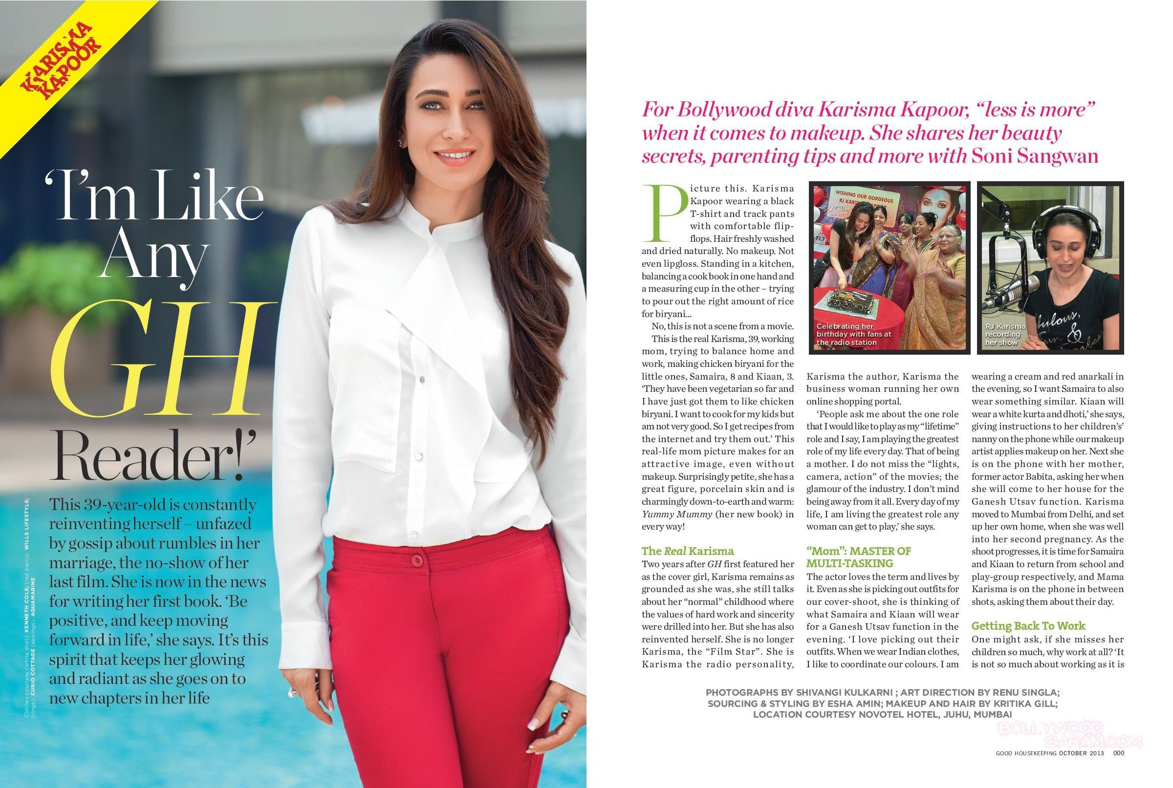 Karishma Kapoor Good Housekeeping