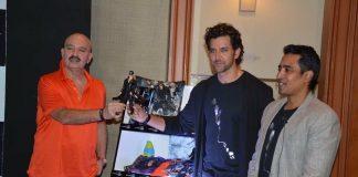 Hrithik and Rakesh Roshan unveil Krrish 3 merchandise