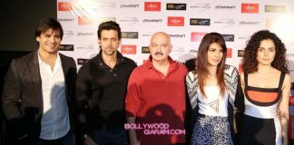 Hrithik Roshan and Priyanka Chopra promote Krrish 3 in New Delhi