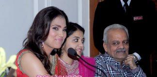 Lara Dutta Bhupathi promotes her new Chhabra 555 saree line in Bhopal