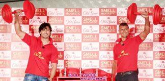 Milind Soman and Vidyut Jamwal unveil Old Spice Original deodrant