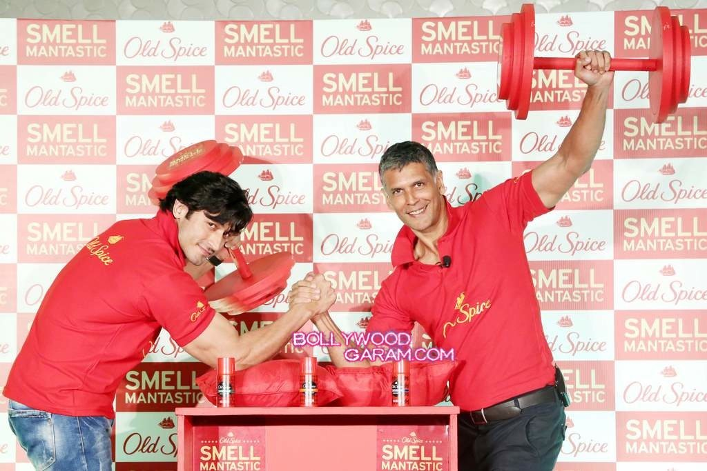 Milind and Vidhyut Old Spice-4