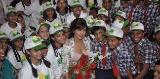 Priyanka Chopra celebrates International Day Of The Girl Child with Khushi NGO
