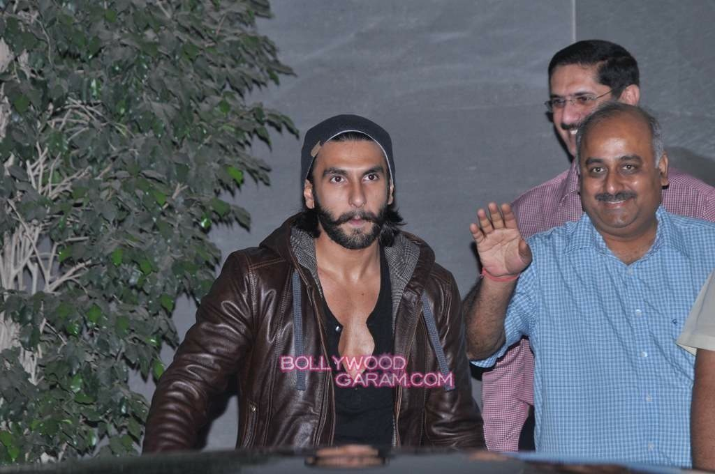 Ranveer Singh out of hospital-1