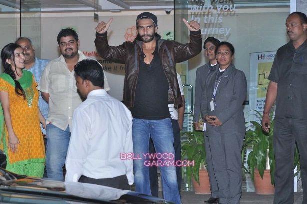 Ranveer Singh out of hospital