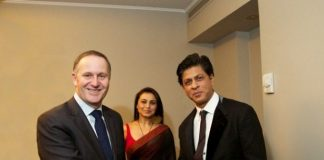 Shahrukh Khan receives warm welcome in New Zealand