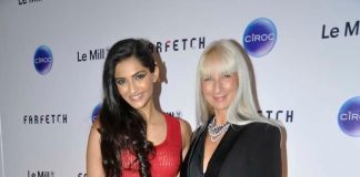 Sonam Kapoor attends Farfetch Le Mill store launch