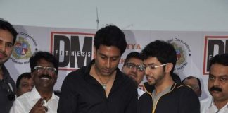 Dino Morea's DM Fitness Studio launched by Abhishek Bachchan