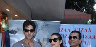 Ameesha Patel, Zayed Khan attend Shaahid Amir's new collection launch