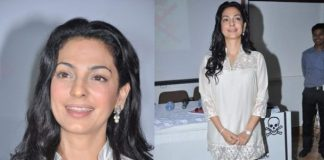 Juhi Chawla talks about hazards of radiations at press conference