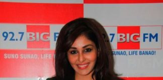 Pooja Chopra attends Diwali 2013 special show by 92.7 BIG FM