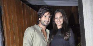 Sonakshi Sinha and Shahid Kapoor attend R…Rajkumar wrap bash