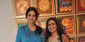 Sridevi attends Seema Kohli's art exhibition launch