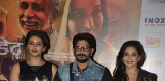 Madhuri Dixit, Arshad Warsi and Huma Qureshi launch first look of Dedh Ishqiya