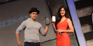 Dhoom 3 merchandise launched by Aamir Khan and Katrina Kaif