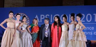 Nisha Jamvwal hosts fashion show at Annual Conference of Plastic Surgeons of India