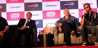 Krrish 3 and Flair announce association at press event