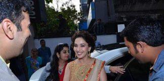 Madhuri Dixit attends PN Gadgil Jewellers store event