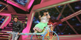 Saif Ali Khan, Kareena Kapoor and Imran Khan promote movies on Nach Baliye